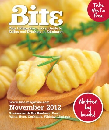 Download Bite Magazine November 2012