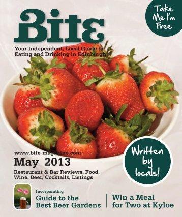 Download Bite Magazine May 2013