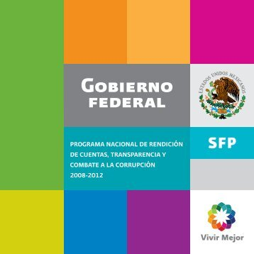 programa nacional de rendición de cuentas, transparencia y ...