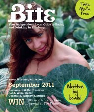 Download September 2011 - Bite Magazine