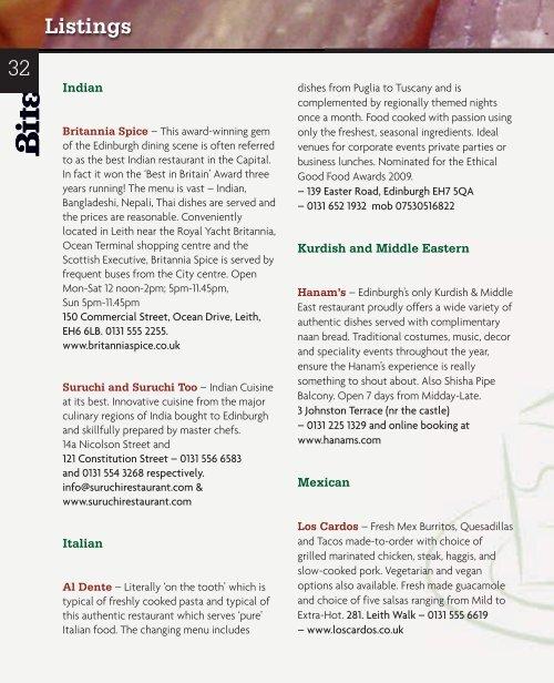 Download August 2011 - Bite Magazine