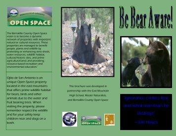 Be Bear Aware - Bernalillo County