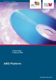 ARIS Platform - Delta Paper - IDS Scheer AG