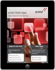 protel Hotel Apps