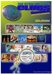 semester 1 middle high school activities - Cebu International School