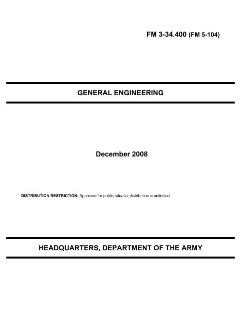 FM 5-104 - Army Electronic Publications & Forms - U S  Army