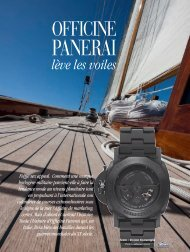 Officine Panerai - Magazine Sports et Loisirs