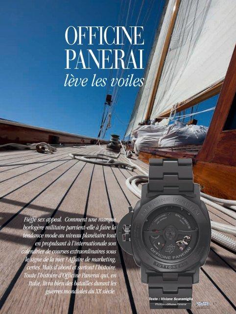 Officine Panerai - Magazine Sports et Loisirs
