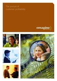 The pursuit of customer profitability - Emagine International
