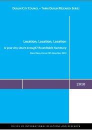 Location, Location, Location - Creative Dublin Alliance