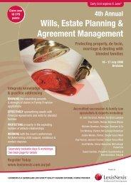 Wills, Estate Planning & Agreement Management - LexisNexis