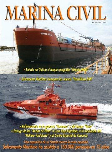 Salvamento Marítimo ha asistido a 150.000 personas en 15 años ...