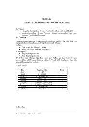 1 | Pemrograman Visual MODUL IV TIPE DATA, OPERATOR ...