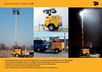 JCB LIGHTING TOWER | LT9