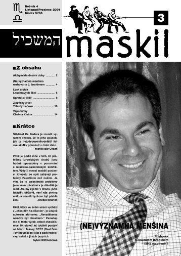 č.3 - Maskil
