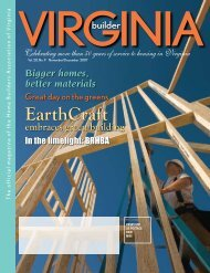 EarthCraft - Home Builders Association of Virginia