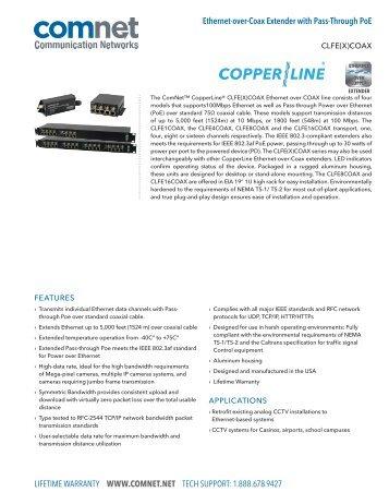 Ethernet Extender - ComNet