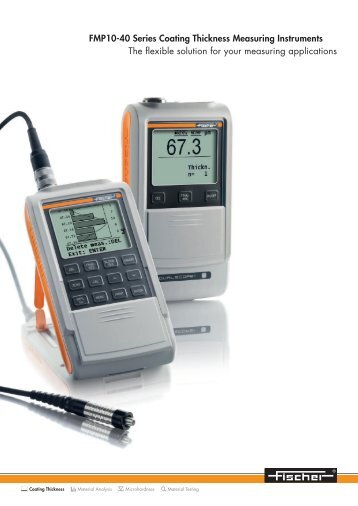 FMP10-40 Series Coating Thickness Measuring Instruments The ...