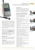 FMP10-40 Series Coating Thickness Measuring Instruments The ... - Page 4