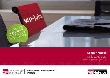 Stellenmarkt - obs.de - Westfälische Nachrichten