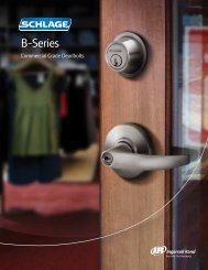 B-Series Catalog - Security Technologies