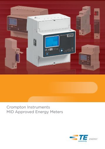 MID Energy Meters Catalogue - Crompton Instruments