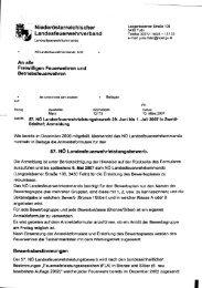 Begleitschreiben des NÖLFV v. 13.3.2007