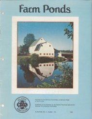 Farm Ponds - Nova Scotia Federation of Agriculture