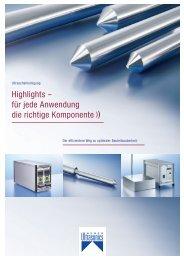 Highlights – für jede Anwendung die richtige Komponente - Weber ...