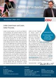 Newsletter | März 2013 Liebe Leserinnen und ... - Frank Heinrich