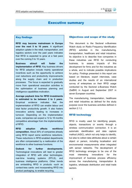 RFID Adoption and Implications - empirica