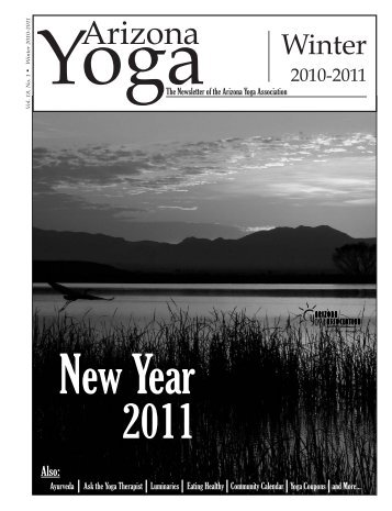 Winter 2010 - Arizona Yoga Association