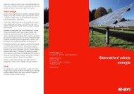 Alternativní zdroje energie - E.ON