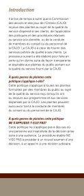 Guide de Règlement des Plaintes - Page 2