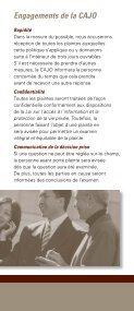 Guide de Règlement des Plaintes - Page 4