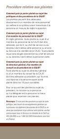 Guide de Règlement des Plaintes - Page 5