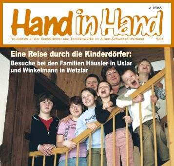 Hand in Hand 02/2004 - Albert-Schweitzer-Verband