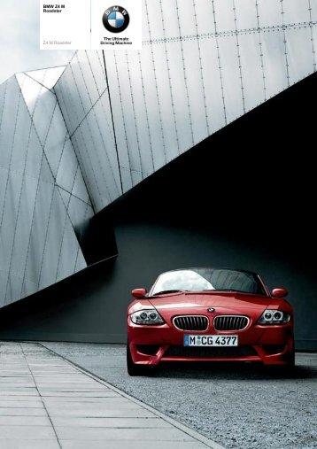 The BMW Z4 M Roadster - Sunriseleasing.co.uk