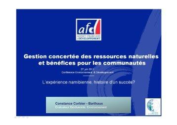 Constance Corbier - Barthaux - Institut Veolia Environnement