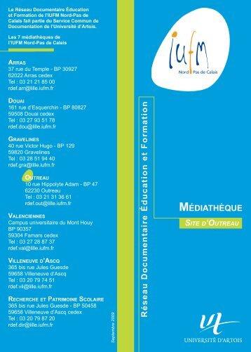 médiathèque du site d'Outreau - IUFM