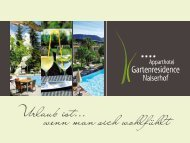 zum download PDF-Datei [1,40 MB] - Hotel Nalserhof