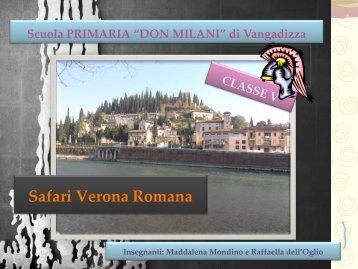 Safari Verona Romana - Classe V
