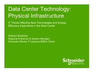 Data Center Technology - Schneider Electric