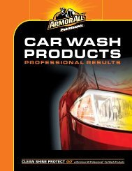 CAR WASH PRODUCTS - Washingequipmenttechnologies.com