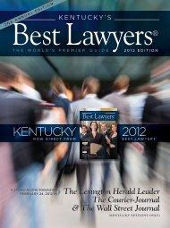 KENTUCKY 2012 - Best Lawyers