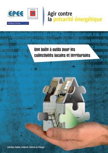 """Guide EPEE """"Agir contre la précarité énergétique"""" - Ademe"""