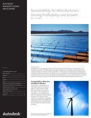 Sustainability for Manufacturers: Driving ... - Applied Software