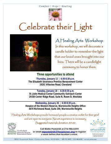 Celebrate their Light - Hospice of the Western Reserve