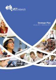 Strategic Plan - VETnetwork Australia