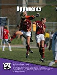 Opponents - Weber State University Athletics
